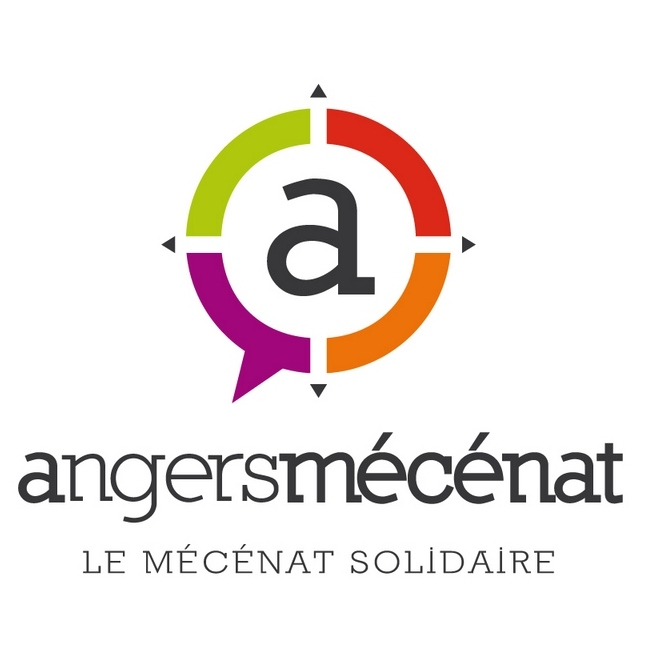 Angers Mécénat logo court carré